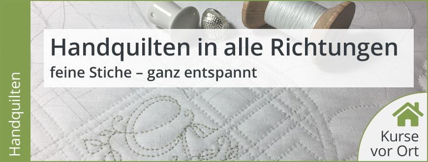Kurs mit Gunhild Fette: Handquilten In Alle Richtungen