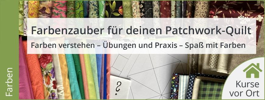 Kurs: Farbenzauber Für Deinen Patchwork Quilt - Gunhild Fette