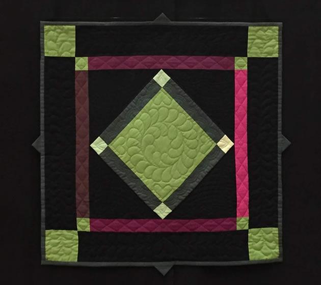Kurs: Farbenzauber Für Deinen Patchwork Quilt - Feathers In The Dark