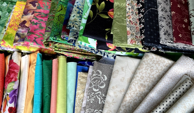 Kurs: Farbenzauber Für Deinen Patchwork Quilt - Stoffreihen